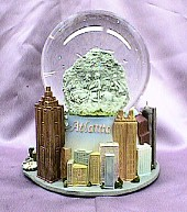 Atlanta waterglobe   #15286    -----   SPECIAL PRICE !!