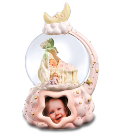Sweet Dreams Baby Girl Musical Waterglobe #39143---SORRY SOLD OUT