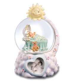 Sweet Dreams Baby Boy Musical Waterglobe  #39136---SORRY SOLD OUT