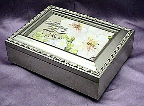 Celebrating  25 Years  Musical Picture  Frame  Champagne Box  #25years    -----  Reg. $85.00 Now $65.00