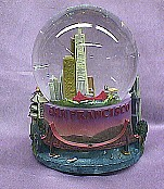 San Francisco  Musical  Waterglobe   #36171