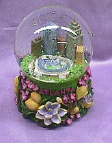 Atlanta  Musical  Waterglobe   #36177