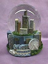 Chicago  Musical  Waterglobe   #36178