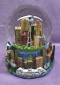 Seattle  Musical  Waterglobe   #36204
