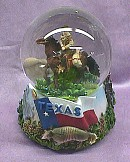 Texas  Musical  Waterglobe   #36205