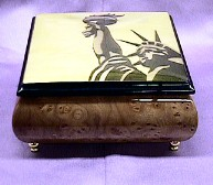 Lady Liberty  Music Box  #liberty