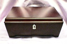Cherry Mahogany Jewelry Box  #69802    --Special Price  Reg. $95.00 Now $75.00