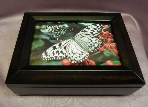Amber Musical Jewelry Photo Box #SP3058 -  Musical Song List with the ORIGINAL ARTISTS Singing Their Own Songs!