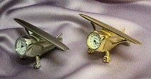 Miniature Airplane Clocks #500   -