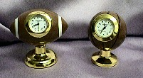 Sport Ball Miniature Clocks #Ballclocks   
