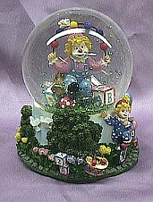 Clown Musical Waterglobe  #36006A
