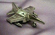 Mini Silver Jet Clock #528    --- Reg. $40.00  Now $30.00
