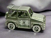 Jeep Miniature Clock #566    --- Reg. $45.00  Now $30.00