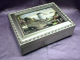 Lighthouse Champagne Musical Jewelry Box -  #lh2044-- Reg. $85.00 Now $65.00