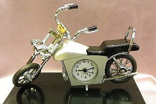 MOTORCYCLE ALARM CLOCK CHOPPER   #chopper