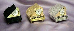 Baby Grand Piano Clocks #517     --- Reg. $35.00  Now $25.00