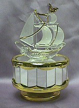 Ship Music Box   #shipglass
