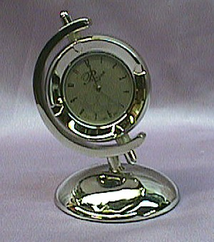 Golfball Deluxe Miniature Clock   #gball