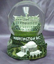 Washington D.C. Waterglobe #36180